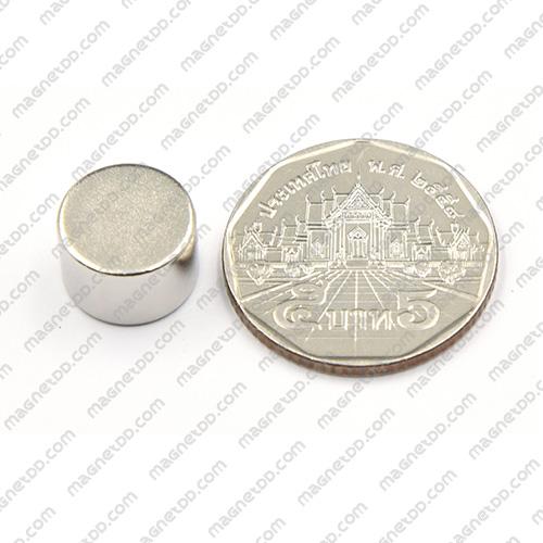 แม่เหล็กแรงสูง Neodymium ขนาด 12mm x 8mm แม่เหล็กถาวรนีโอไดเมี่ยม NdFeB (Neodymium)