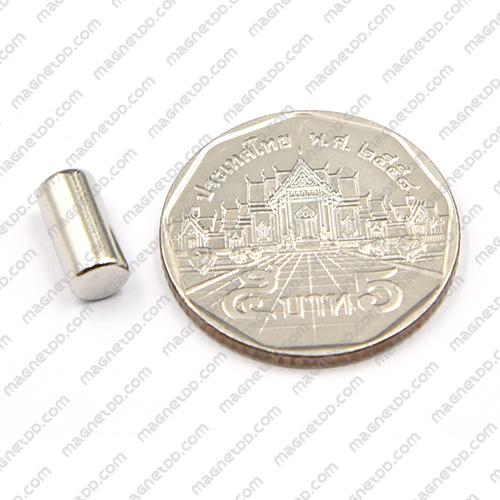 แม่เหล็กแรงสูง Neodymium ขนาด 5mm x 10mm แม่เหล็กถาวรนีโอไดเมี่ยม NdFeB (Neodymium)
