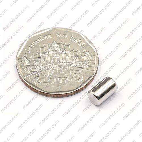 แม่เหล็กแรงสูง Neodymium ขนาด 5mm x 8mm แม่เหล็กถาวรนีโอไดเมี่ยม NdFeB (Neodymium)