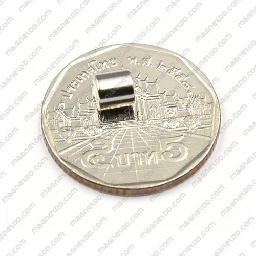 แม่เหล็กแรงสูง Neodymium ขนาด 5mm x 5mm แม่เหล็กถาวรนีโอไดเมี่ยม NdFeB (Neodymium)