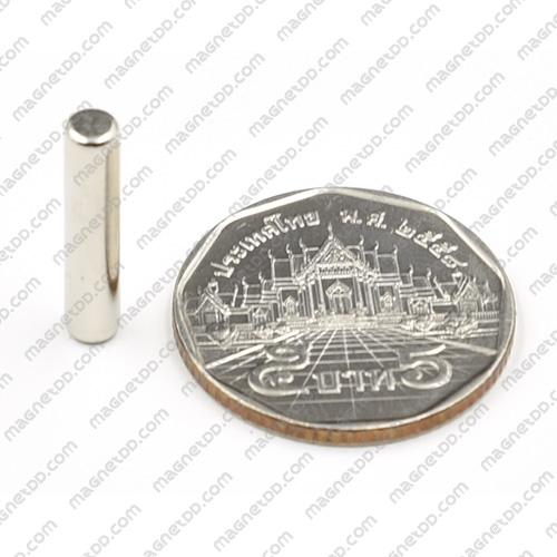 แม่เหล็กแรงสูง Neodymium ขนาด 4mm x 20mm แม่เหล็กถาวรนีโอไดเมี่ยม NdFeB (Neodymium)