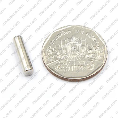 แม่เหล็กแรงสูง Neodymium ขนาด 4mm x 16mm แม่เหล็กถาวรนีโอไดเมี่ยม NdFeB (Neodymium)