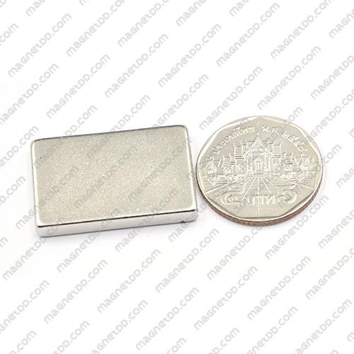 แม่เหล็กแรงสูง Neodymium 30mm x 20mm x 4mm แม่เหล็กถาวรนีโอไดเมี่ยม NdFeB (Neodymium)