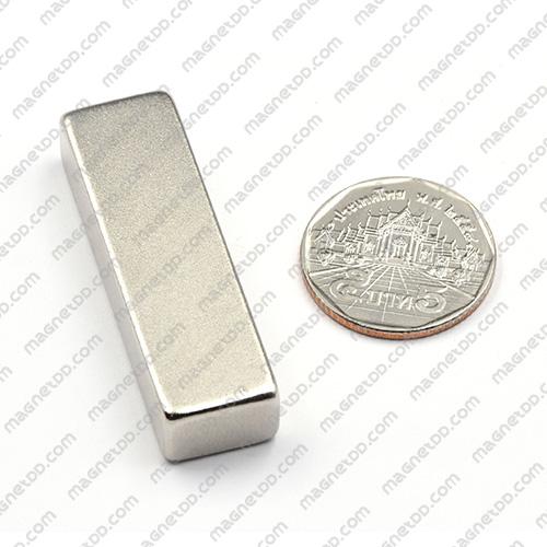 แม่เหล็กแรงสูง Neodymium 50mm x 15mm x 10mm แม่เหล็กถาวรนีโอไดเมี่ยม NdFeB (Neodymium)
