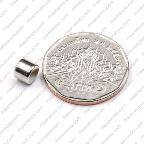 แม่เหล็กแรงสูง Neodymium ขนาด 6mm x 5mm แม่เหล็กถาวรนีโอไดเมี่ยม NdFeB (Neodymium)