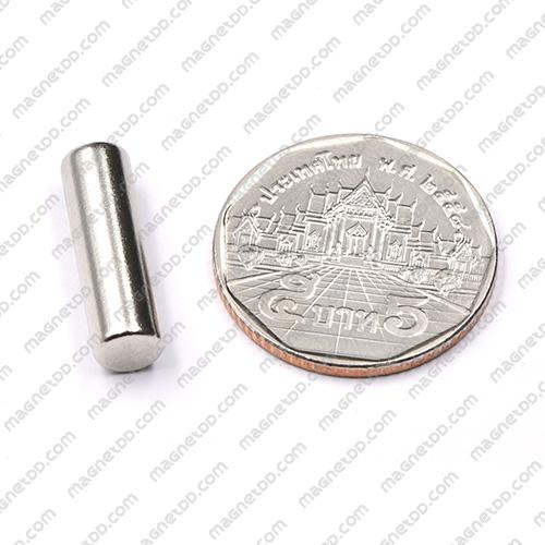 แม่เหล็กแรงสูง Neodymium ขนาด 6mm x 20mm แม่เหล็กถาวรนีโอไดเมี่ยม NdFeB (Neodymium)