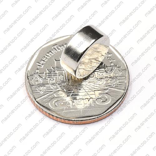 แม่เหล็กแรงสูง Neodymium ขนาด 12mm x 5mm แม่เหล็กถาวรนีโอไดเมี่ยม NdFeB (Neodymium)