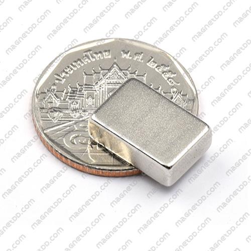 แม่เหล็กแรงสูง Neodymium ขนาด 15mm x 10mm x 5mm แม่เหล็กถาวรนีโอไดเมี่ยม NdFeB (Neodymium)