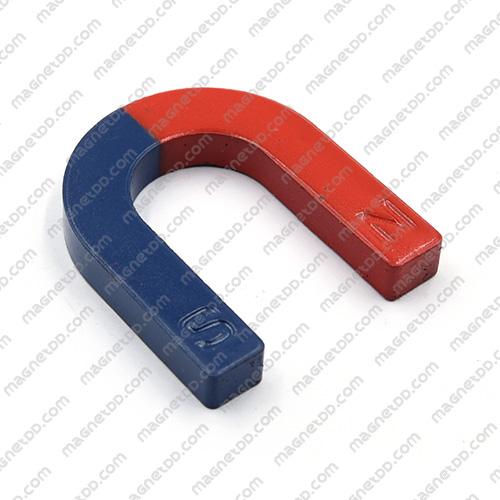 แม่เหล็กเกือกม้า Horseshoe Magnet ขนาด 60mm x 50mm x 9mm แม่เหล็กถาวรเฟอร์ไรท์ (แม่เหล็กดำ) Ferrite