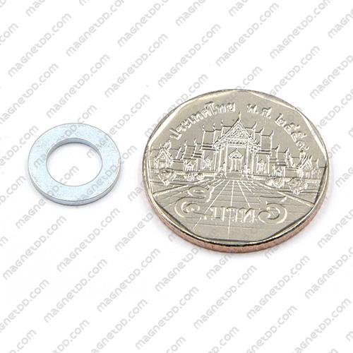 แม่เหล็กแรงสูง Neodymium ขนาด 12mm x 1.2mm วงใน 7mm แม่เหล็กถาวรนีโอไดเมี่ยม NdFeB (Neodymium)