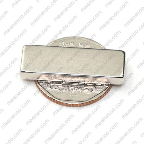 แม่เหล็กแรงสูง Neodymium ขนาด 30mm x 10mm x 4mm แม่เหล็กถาวรนีโอไดเมี่ยม NdFeB (Neodymium)