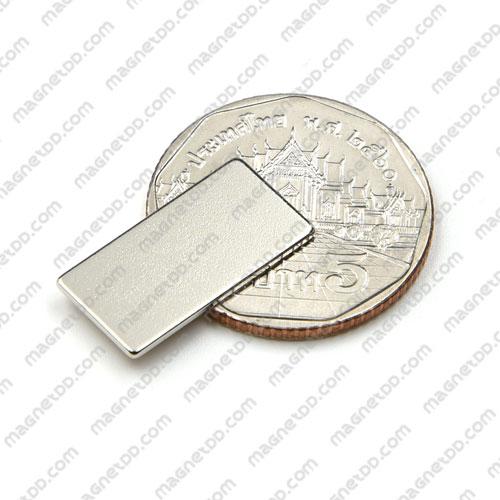 แม่เหล็กแรงสูง Neodymium 20mm x 10mm x 1mm แม่เหล็กถาวรนีโอไดเมี่ยม NdFeB (Neodymium)