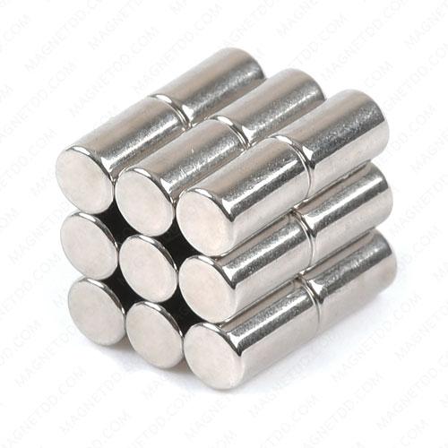 แม่เหล็กแรงสูง Neodymium ขนาด 3mm x 5mm แม่เหล็กถาวรนีโอไดเมี่ยม NdFeB (Neodymium)