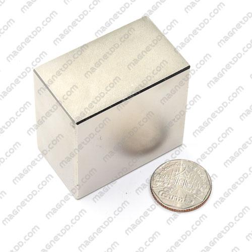 แม่เหล็กแรงสูง Neodymium ขนาด 50mm x 50mm x 30mm แม่เหล็กถาวรนีโอไดเมี่ยม NdFeB (Neodymium)