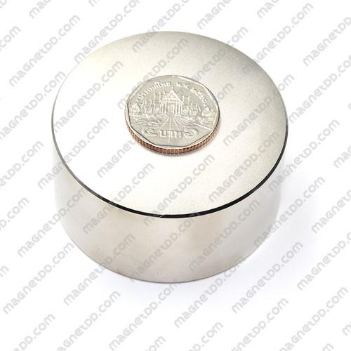 แม่เหล็กแรงสูง Neodymium ขนาด 60mm x 30mm แม่เหล็กถาวรนีโอไดเมี่ยม NdFeB (Neodymium)