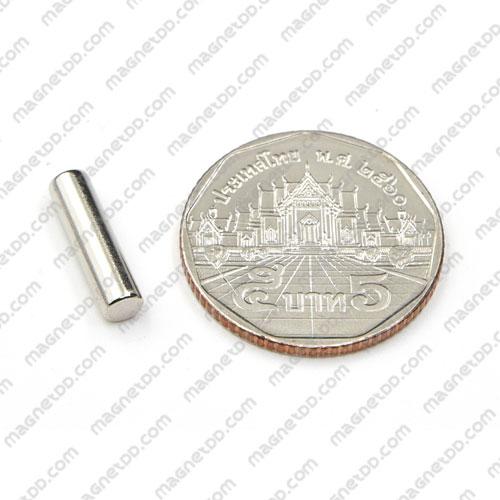แม่เหล็กแรงสูง Neodymium ขนาด 4mm x 15mm แม่เหล็กถาวรนีโอไดเมี่ยม NdFeB (Neodymium)