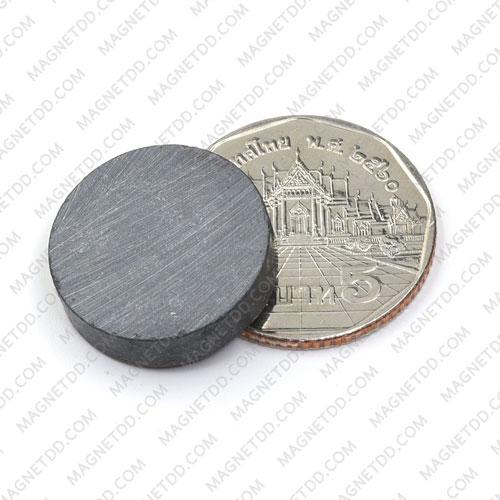 แม่เหล็กเฟอร์ไรท์ Ferrite ขนาด 20mm x 5mm แม่เหล็กถาวรเฟอร์ไรท์ (แม่เหล็กดำ) Ferrite