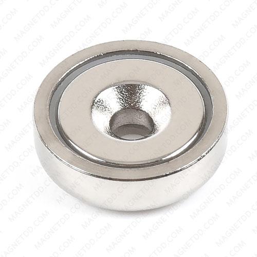 Neodymium Magnetic Cups ขนาด 16mm x 5mm รู 3.40mm แม่เหล็กถาวรนีโอไดเมี่ยม NdFeB (Neodymium)