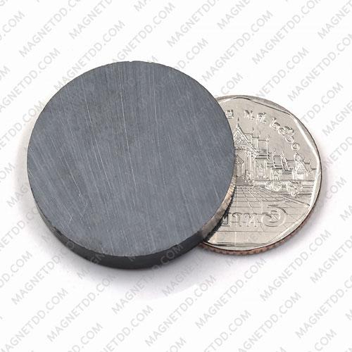 แม่เหล็กเฟอร์ไรท์ Ferrite ขนาด 30mm x 5mm แม่เหล็กถาวรเฟอร์ไรท์ (แม่เหล็กดำ) Ferrite