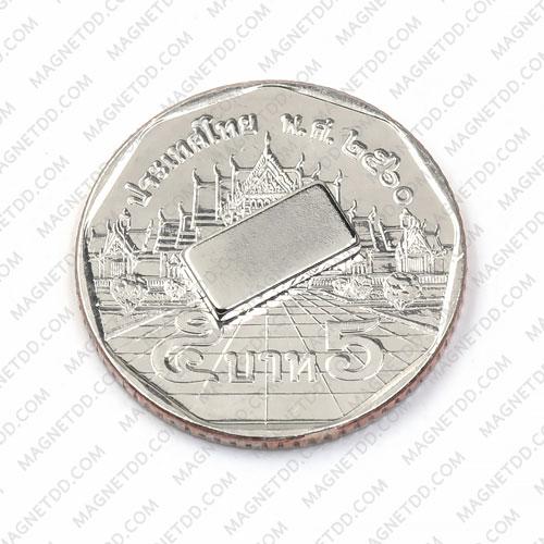 แม่เหล็กแรงสูง Neodymium ขนาด 10mm x 5mm x 1.5mm แม่เหล็กถาวรนีโอไดเมี่ยม NdFeB (Neodymium)