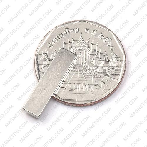 แม่เหล็กแรงสูง Neodymium ขนาด 20mm x 5mm x 1.5mm แม่เหล็กถาวรนีโอไดเมี่ยม NdFeB (Neodymium)