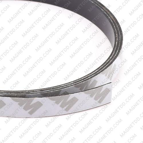 แม่เหล็กยางสติกเกอร์ 3M ขนาด 10mm x 1mm ยาว 1เมตร แม่เหล็กถาวรยาง Flexible Rubber Magnets