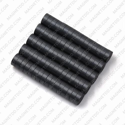 แม่เหล็กเฟอร์ไรท์ Ferrite ขนาด 8mm x 3mm แม่เหล็กถาวรเฟอร์ไรท์ (แม่เหล็กดำ) Ferrite