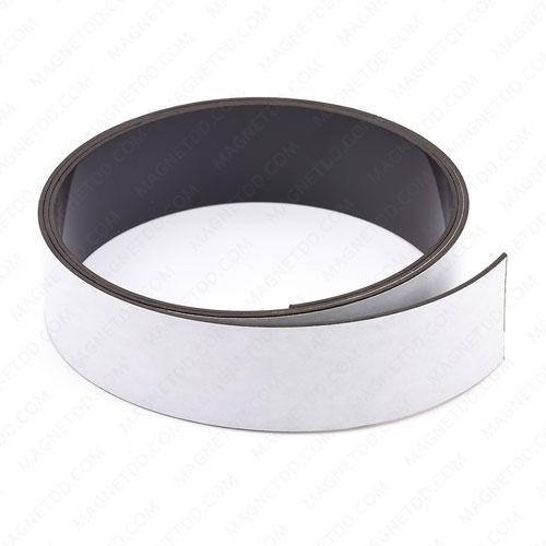 แม่เหล็กยางสติกเกอร์ AGV Navigation 30mm x 1.2mm ขั้ว S ยาว 1เมตร แม่เหล็กถาวรยาง Flexible Rubber Magnets