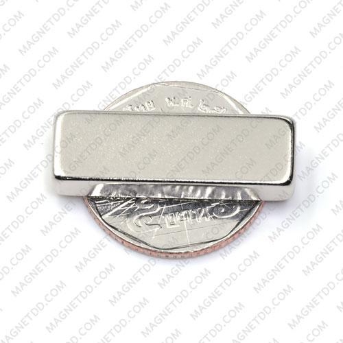 แม่เหล็กแรงสูง Neodymium ขนาด 30mm x 10mm x 5mm แม่เหล็กถาวรนีโอไดเมี่ยม NdFeB (Neodymium)