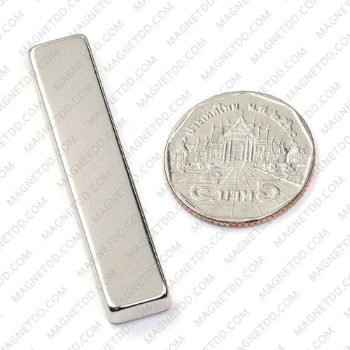 แม่เหล็กแรงสูง Neodymium ขนาด 50mm x 10mm x 5mm แม่เหล็กถาวรนีโอไดเมี่ยม NdFeB (Neodymium)