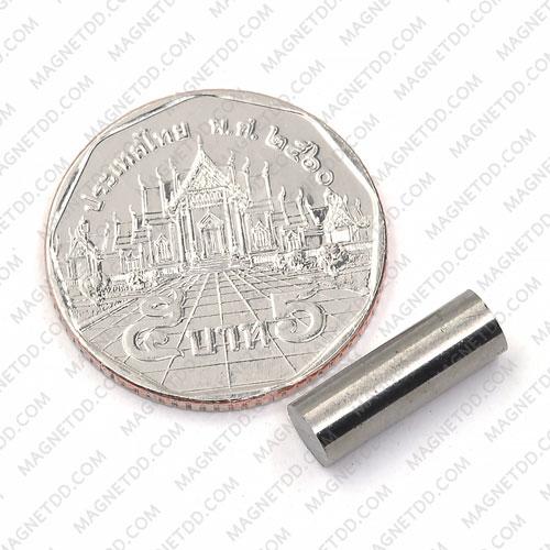 แม่เหล็กอัลนิโค Alnico Magnet ขนาด 5mm x 15mm