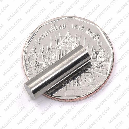 แม่เหล็กอัลนิโค Alnico Magnet ขนาด 5mm x 18mm