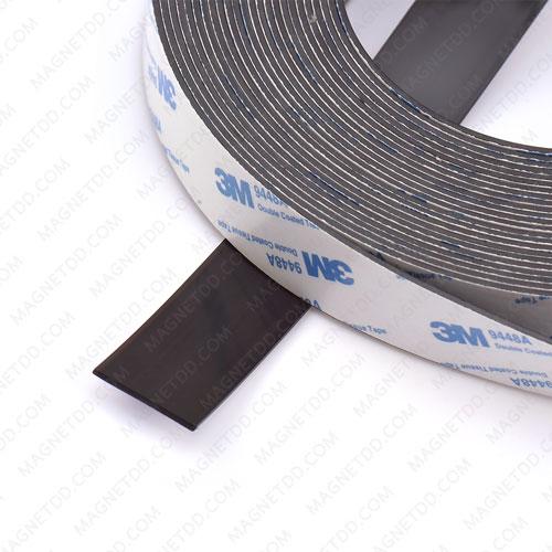 แม่เหล็กยางสติกเกอร์ 3M ขนาด 25mm x 1.5mm ยาว 1เมตร แม่เหล็กถาวรยาง Flexible Rubber Magnets