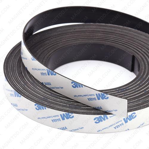 แม่เหล็กยางสติกเกอร์ 3M ขนาด 20mm x 1.5mm ยาว 1เมตร แม่เหล็กถาวรยาง Flexible Rubber Magnets