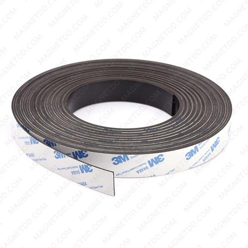 แม่เหล็กยางสติกเกอร์ 3M ขนาด 20mm x 1.5mm ยาว 10เมตร [ยกม้วน] แม่เหล็กถาวรยาง Flexible Rubber Magnets