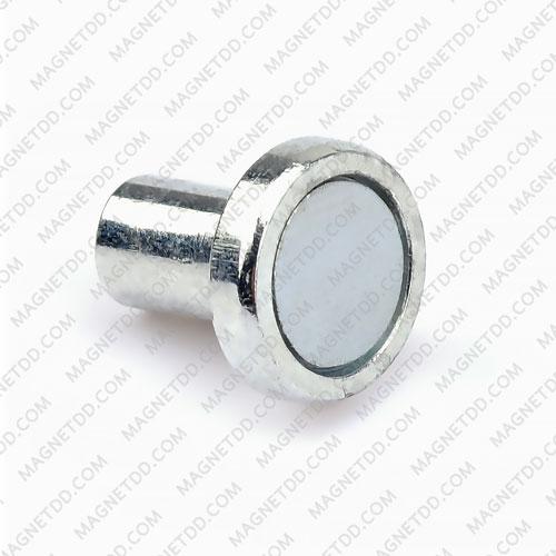 ฐานแม่เหล็กแรงสูง Mounting Magnet 12mm x 12mm เกลียวใน M3 แม่เหล็กถาวรนีโอไดเมี่ยม NdFeB (Neodymium)