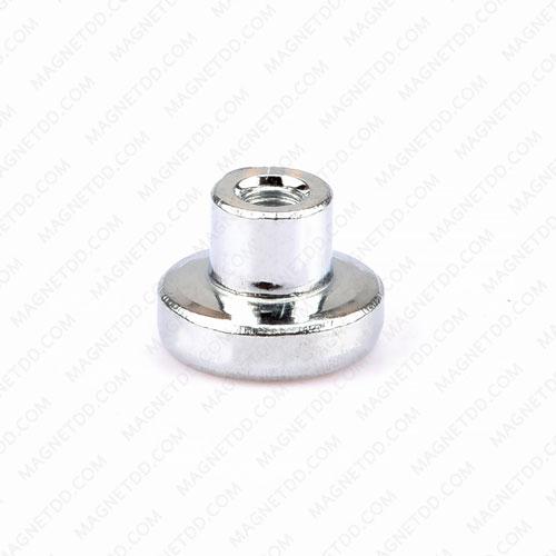ฐานแม่เหล็กแรงสูง Mounting Magnet 11mm x 8mm เกลียวใน M3 แม่เหล็กถาวรนีโอไดเมี่ยม NdFeB (Neodymium)