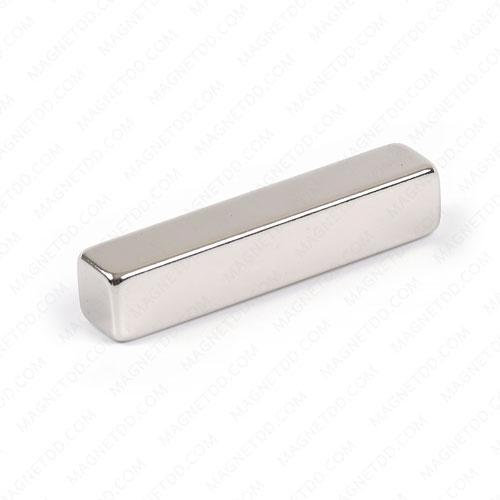 แม่เหล็กแรงสูง Neodymium ขนาด 50mm x 10mm x 10mm แม่เหล็กถาวรนีโอไดเมี่ยม NdFeB (Neodymium)