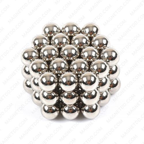 ลูกบอลแม่เหล็กแรงสูง Magnet Ball 7mm - ชุด 56 ชิ้น แม่เหล็กถาวรนีโอไดเมี่ยม NdFeB (Neodymium)