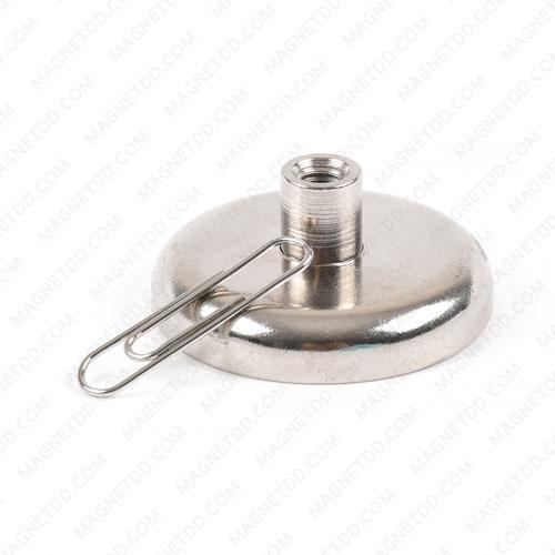 ชุดตะขอแม่เหล็กสูง Neodymium ขนาด 42mm. x 7.70mm. แม่เหล็กถาวรนีโอไดเมี่ยม NdFeB (Neodymium)