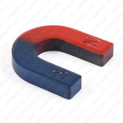 แม่เหล็กเกือกม้า Horseshoe Magnet ขนาด 30mm x 29mm x 6mm แม่เหล็กถาวรเฟอร์ไรท์ (แม่เหล็กดำ) Ferrite