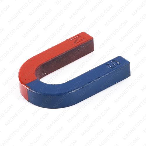 แม่เหล็กเกือกม้า Horseshoe Magnet ขนาด 70mm x 50mm x 12mm แม่เหล็กถาวรเฟอร์ไรท์ (แม่เหล็กดำ) Ferrite