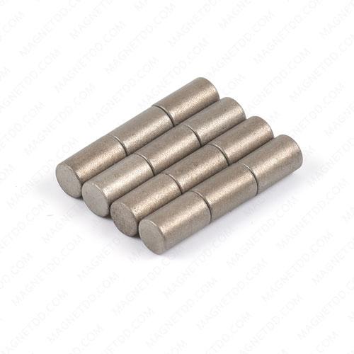แม่เหล็กแรงสูงทนความร้อน Samarium Re ขนาด 6mm x 10mm แม่เหล็กแรงสูง ทนความร้อน Samarium Cobalt 350C