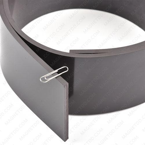 แม่เหล็กยาง ขนาด 80mm x 5.5mm ยาว 1.20เมตร แม่เหล็กถาวรยาง Flexible Rubber Magnets