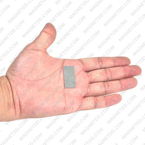 แผ่นเหล็ก Iron Sheet 35mm x 15mm x 0.3mm [ ชุด 100ชิ้น]
