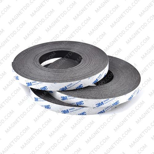 แม่เหล็กยางสติกเกอร์ 3M ขนาด 15mm x 1.5mm ยาว - 10เมตร [ยกม้วน] แม่เหล็กถาวรยาง Flexible Rubber Magnets