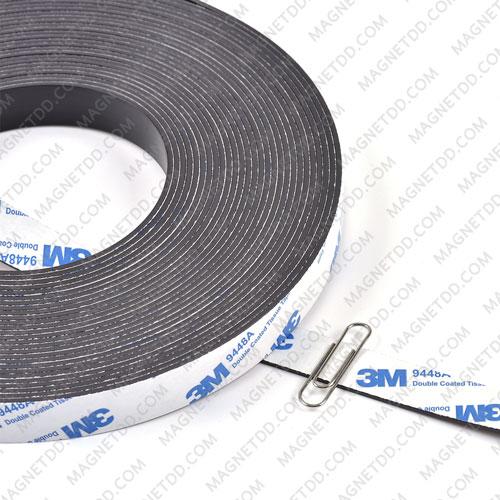 แม่เหล็กยางสติกเกอร์ 3M ขนาด 15mm x 1.5mm ยาว 1เมตร แม่เหล็กถาวรยาง Flexible Rubber Magnets