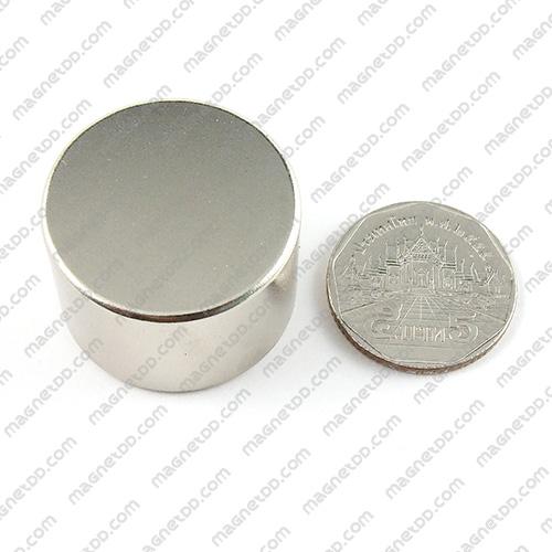 แม่เหล็กแรงสูง Neodymium ขนาด 30mm x 20mm แม่เหล็กถาวรนีโอไดเมี่ยม NdFeB (Neodymium)