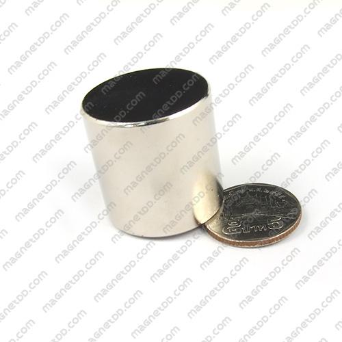 แม่เหล็กแรงสูง Neodymium ขนาด 30mm x 30mm แม่เหล็กถาวรนีโอไดเมี่ยม NdFeB (Neodymium)
