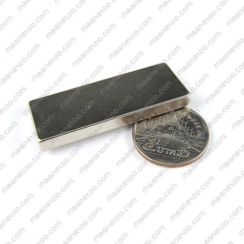 แม่เหล็กแรงสูง Neodymium ขนาด 49mm x 19mm x 4.75mm แม่เหล็กถาวรนีโอไดเมี่ยม NdFeB (Neodymium)
